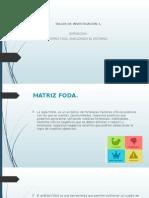 Matriz Foda. Exp