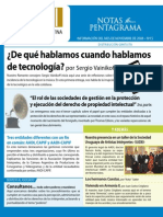 Asociacion Argentina de Interpretes,Boletín Nro 15