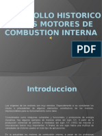 DESARROLLO HISTORICO DE LOS MOTORES DE COMBUSTION INTERNA