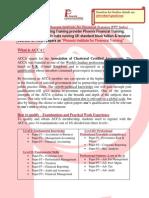 Career in Finance Acca at Phoenixft 2015d v1