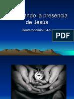 Practicando La Presencia de Jesus en Nuestros Hogares