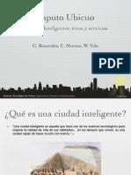 Áreas y Servicios de Las Comunidades Inteligentes