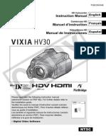 Vixia Hv30 Instruction Manual