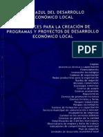 Libro Azul del Desarrollo Económico Local