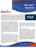 Blueslice Subscriber Data Server DataSheet
