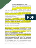 Modelo II Política Gubernamental