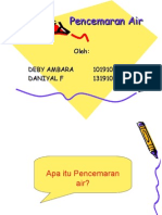 Pencemaran Air Ppt