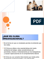 17. CLIMA ORGANIZACIONAL1