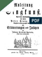 Agricola - Anleitung Zur Singkunst