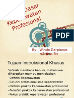 Konsep Dasar Keperawatan Profesional