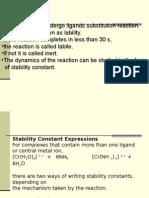 Stabilization of Complex