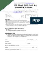 2015 Alice River Nomination Form