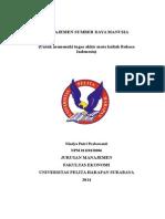 Manajemen Sumber Daya Manusia-nindya Prabawanti Uphsurabaya