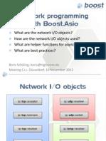 Boost.asio - Network Programming