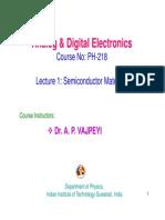 Lec-1 semiconductors materials