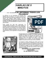 001-Se Deben Informar Todos Los Peligros