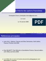 Introduction Aux Options Financieres