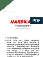 Penjelasan Hardware
