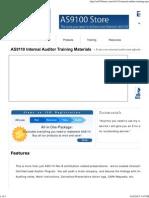 AS9110 Internal Auditor Training