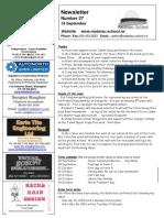 Newsletter Term_3 Week 9 2015