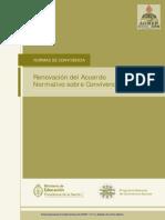 Acuerdo de Convivencia Escolar Cuadernillo 1-Ministerio de E-C y T de La Nación