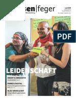Ausgabe 17 2015 des strassenfeger -  Leidenschaft