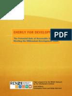 Renewable Energy in Devloping Countries
