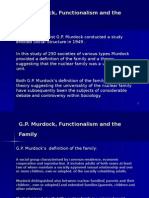 G.P Murdock, Functionalism, Family (1).ppt
