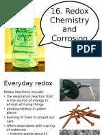16. Redox chemistry unit 2