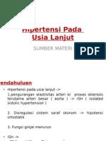 Hipertensi Usia Lanjut - IPD