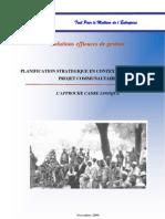 Planification stratégique en contexte communautaire