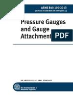 ASMEB40.5- Pressure Guages