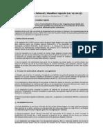 Ley Conciliacion Familiar Laboral 2013