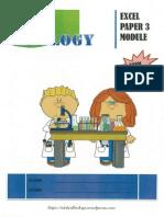 Excel Paper 3 Biology Form 5