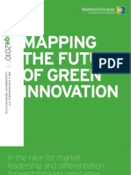 MAPPING THE FUTURE OF GREEN INNOVATION™ Mapchange 2010 Perspective