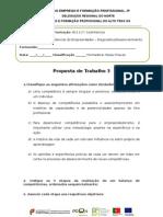 Proposta de Trabalho 3 Ufcd 7852
