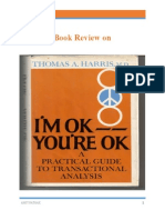 I Am Ok You Are Ok Book Review