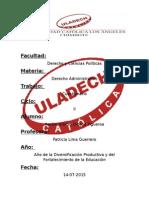 Cuestionario de Derecho administrativo.docx