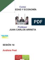Sociedad y Economía Análisis Pest Sesiones 14
