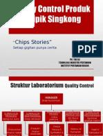 Quality Control Produk Keripik Singkong (1)