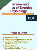 Basics of Exercise Physiology