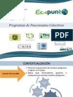 Contextualización programas posconsumo