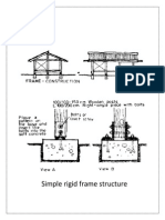 Simple Rigid Frame Structure