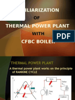 FAMILIARIZATION OF THERMAL POWER PLANT WITH CFBC BOILER