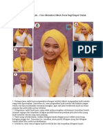 Inilah Dia Tutorial Hijab