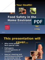 Food Safety Home Environment