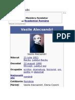 Vasile Alexandri