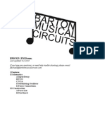 Bmc025 Fm Drum Documentation