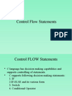 Control Statement