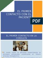 El Primer Contacto Con El Paciente